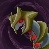 My favorite Ghost type: Giratina by CountDraggula
