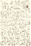 111 Feet sketches / references by Qinni