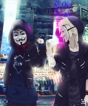 Anonymous by KasaiiHime