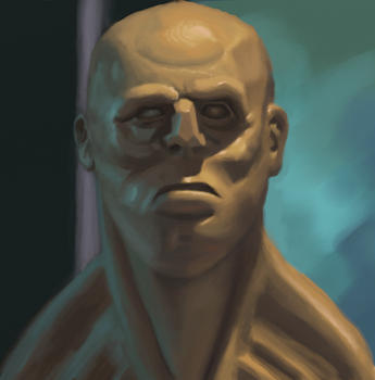 Photo study, sculpy face by Christian223