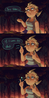 Double Trouble - a short prequel comic by BabaKinkin