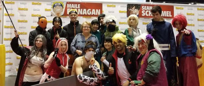 Maile Flanigan Naruto Group at MegaCon 2018 by R-Legend