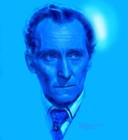PETER CUSHING by woodywelch