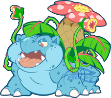 PM venusaur by MrsDrPepper