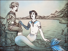 Mermaid AU by maryallen138