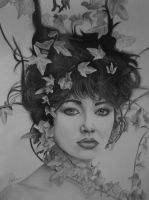 Kate Bush by LineLR