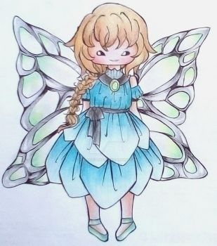 {Closed} Point Adoptable -- Fairy by scarletart99