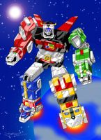 Voltron 2007 by fantasination