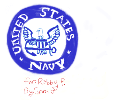Navy Emblem by MissFlorah