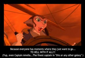Captain Amelia- To Hell With It!!! by Shadow-StrikeRaven
