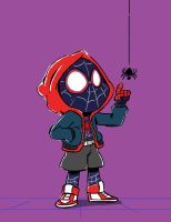 Mini Miles Morales by NicParris