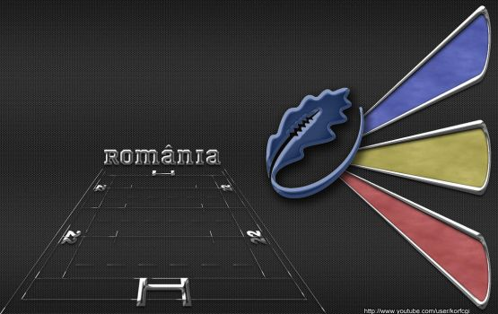 Romania rugby wallpaper by KorfCGI