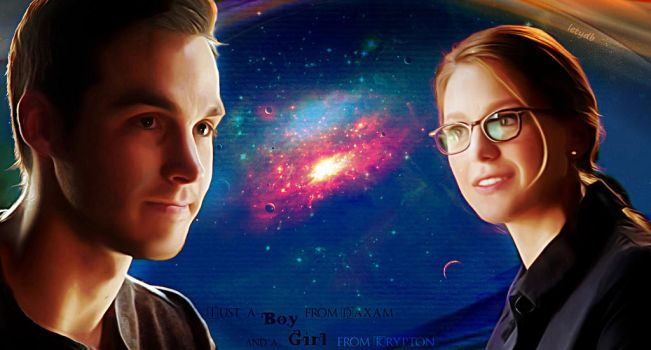 A boy from Daxam and a girl from Krypton by letydb