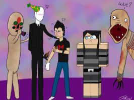 Mark-a-day 4, party with the friends :3 by DeLowl