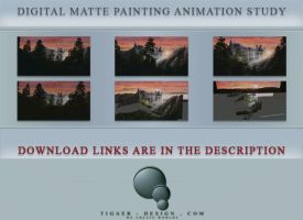 Matte Painting Animation Study by tigaer