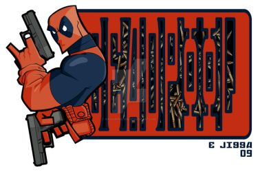 Deadpool by masamune7905