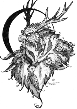 Ink Moonkin 2015 by StarNob