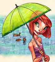 Rainy Day by coloring
