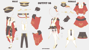 (AUCTION|CLOSE) Outfit 16 by krianart