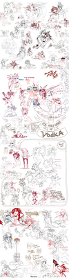 Group Shenanigans Dump 01 by LiLaiRa