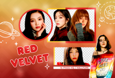 PNG PACK: Red Velvet #2 by Hallyumi