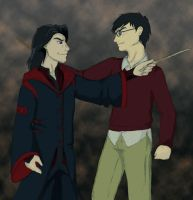 Messrs Padfoot and Prongs by midnight-risu