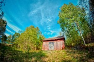 Old barn by Flaeger