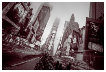 Times Square NYC by DennisChunga