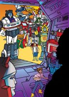 Autobots Welcome by Mentacle