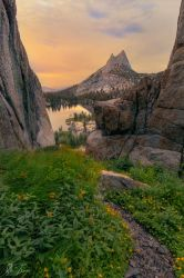 Cathedral Sunset by rctfan2