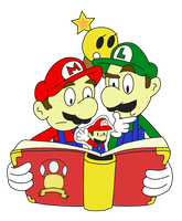 Mario and Luigi: Paper Jam by Gart-delta