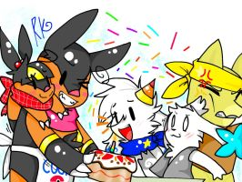 Cake for all! by Rachivee