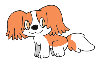 Day 19: Cavalier King Charles Spaniel by Alice-of-Africa