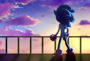 Sonic The Hedgehog-1 by gerarodmont
