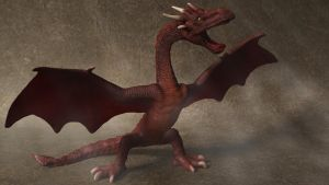 Red Dragon by 3DSud