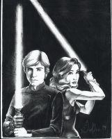 Luke and Mara by ladyh