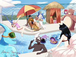 League of summer by Gora-Tendo