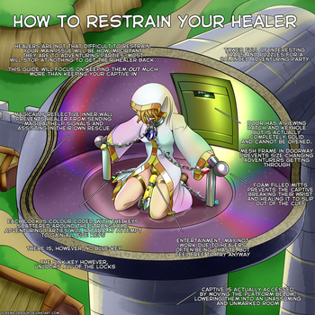 How to Restrain your Healer by Plasma-dragon