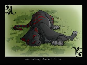 Lazy panther by Tenaga