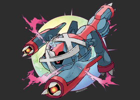 Mega Metagross (FAN-MADE)
