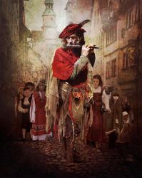 The Pied Piper of Hamelin by ChrisRawlins