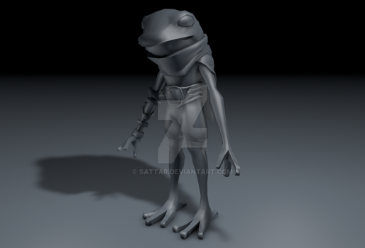 3D - Froggy Knight - Base by SaTTaR