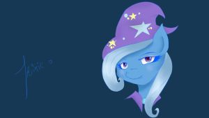 Trixie SKetch by flutter-chi