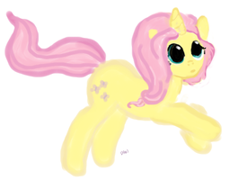 fanart:MLP If it was?.. FluttershyNOT MY CHARACTER by WhiteLedy