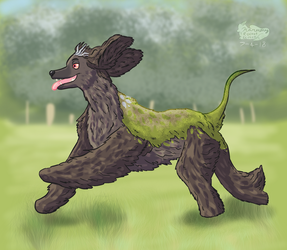Art Fight Attack #1 by HarmonyRocketEeveon