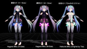 Tda Mikus (Hagane H, Hagane M, and Original) by MeerkatQueen