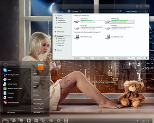 Meteora for Windows 7 by alkhan
