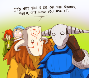 Dota2 Responses Week - Day 4 - Size by keterok
