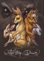 Watership Down Cover saturated by SapphireGamgee