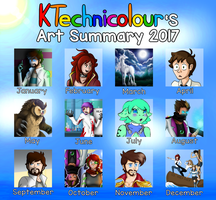 Art Summary 2017 by KTechnicolour